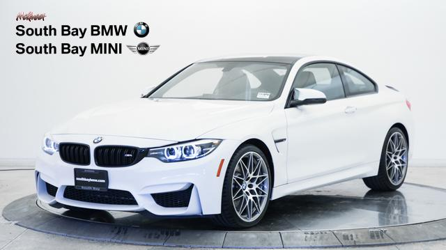 Certified Pre Owned 2018 Bmw M4 Coupe Rwd 2dr Car